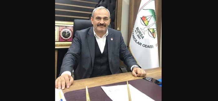 Bursa Seyyar Pazarcılar Odası Başkanı Ahmet Refik Aksu