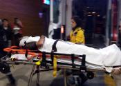 Yaralı sürücü 1 saatte kurtarıldı