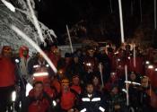 Uludağ'da geceyi arazide geçirmek zorunda kalan AKUT üyeleri yaşanılanları anlattı