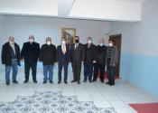 Demokrat Parti'den kaymakam Arslan'a ziyaret