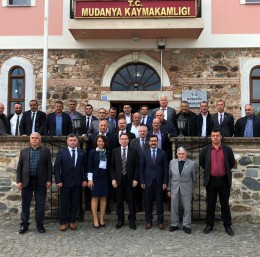 Muhtarlar Günü Mudanya'da kutlandı