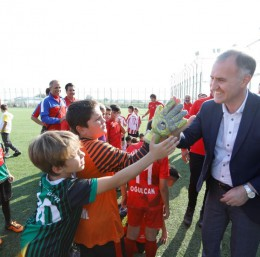İnegöl Futbol Şölenine ev sahipliği yaptı