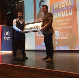 Medya Okulu'nun konuğu Ersin Çelik