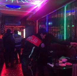 Bursa'da polisinden umuma açık mekanlarda denetim