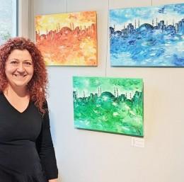 'Kadın-ım' sergisine Bursalı sanatçıdan üç eser