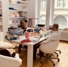 Bursalı tekstilciler New York TTM'de ikili iş görüşmesi yaptı