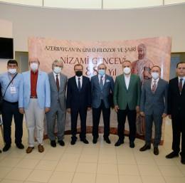 Azerbaycan'ın millî şairi Nizami Gencevî Bursa'da anıldı