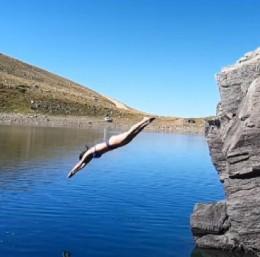 Uludağ'ın göllerinde kışın yürüdüler, yazın yüzdüler