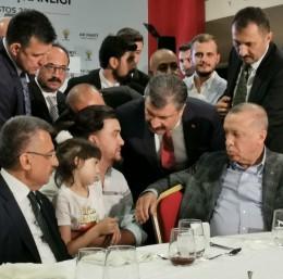 Haluk Levent'ten küçük Zeynep'e sürpriz ziyaret