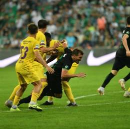TFF 1. Lig: Bursaspor: 0 - MKE Ankaragücü: 2 (İlk yarı sonucu)