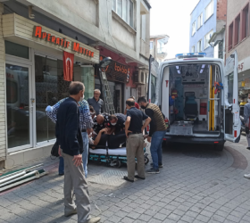 Görünmez kazada 1 kişi yaralandı