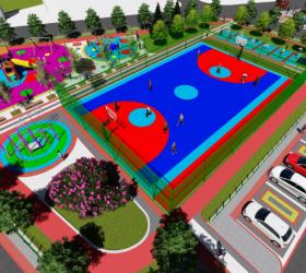Naim Süleymanoğlu parkı için çalışmalar başladı