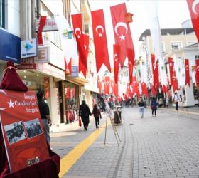 'İnegöl ve Cumhuriyet' Sergisi Uzun Sokakta Açıldı