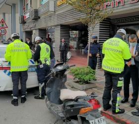 İnegöl'deki kazaların %45'i motosiklet kazası