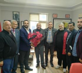 DP'den Ziya Turan'a ziyaret