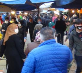 Maske takmayan pazarcıyı vatandaş ihbar etti