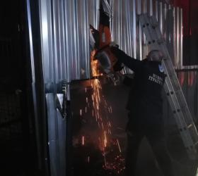 İnegöl'de büyük yangını itfaiye önledi