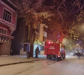 İnegöl'de 2 farklı adreste yangın çıktı