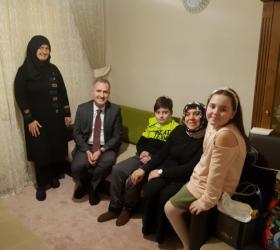 Başkan Taban'dan Kayra'ya ziyaret