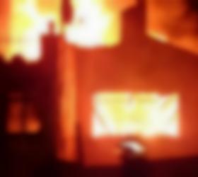 Huzur mahallesinde korkutan yangın