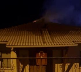 Hayriye Mahallesinde yangın