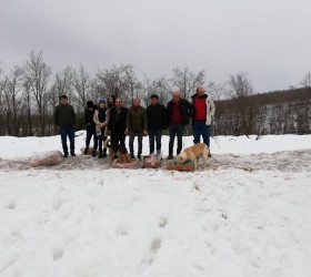 Kara kışta sokak hayvanlarını unutmadılar