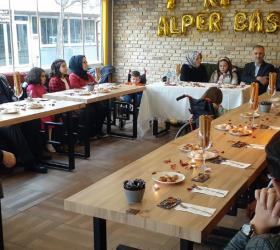 Alper Taban'a doğum günü sürprizi