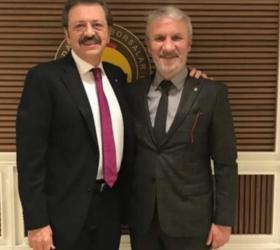 Yavuz Ugurdağ Rıfat Hisarcıklıoğlu ile görüştü