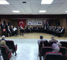 Erkekler Tasavvuf Müziği Topluluğu'ndan 3 aylar özel konseri