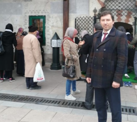 AK Parti İnegöl İlçe Başkanı Mustafa Durmuş oldu