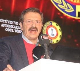 TOBB Başkanı Hisarcıklıoğlu: 'Temeli İnegöl'de atılacak'