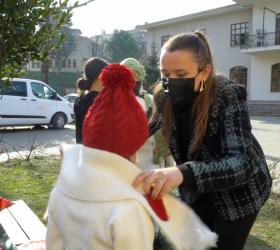 İnegöl AVM'den iç ısıtan kampanya