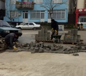 Cumhuriyet Mahallesi'nde çalışmalar devam ediyor