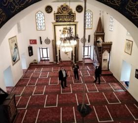 İnegöl'de camiler Cuma'ya hazır