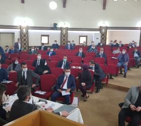 Belediye meclisi 3 ay sonra ilk defa toplandı