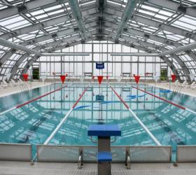 Yarı olimpik yüzme havuzu yarın açılıyor