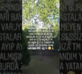 İnegöl'de korona hastalarının isyanı!