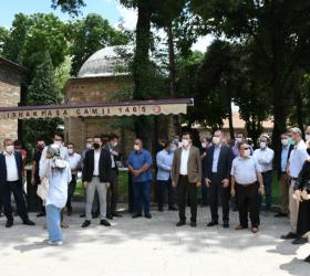 Ayasofya'nın İbadete Açılması Mehteranla Kutlandı