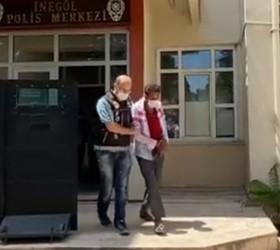 İnegöl'de 2.6 kilogram uyuşturucuyla yakalandılar, serbest kaldılar