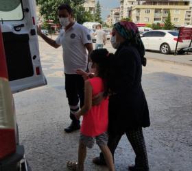 Akrep sokan 8 yaşındaki çocuk Bursa'ya sevk edildi