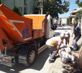 Bayram Süresince 290 Ton Kurban Atığı Toplandı