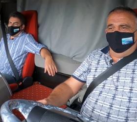 İnegöllü şoför TRT'de
