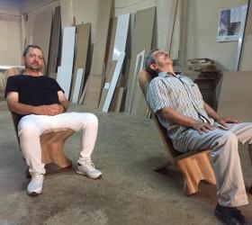Bel fıtığı ağrılarını bitiren sandalye