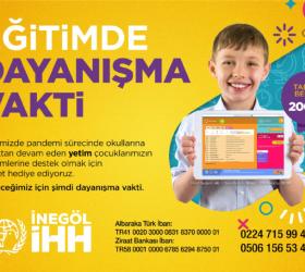 İHH yetimlere tablet kampanyası başlattı