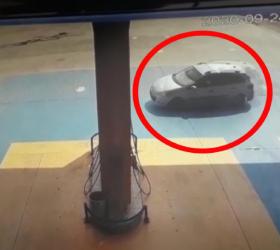 İnegöl'de araç petrole daldı; 5 yaralı