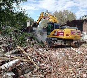 İnegöl'de 3 bölgede yıkım yapıldı