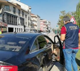 İnegöl'de polisten şok uygulama