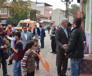 Şahin, Yeniceköy'de çalıştı