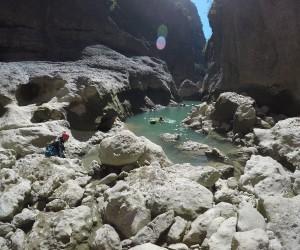 (Özel Haber) Bursalı dağcıların Köprülü ve Tazı Kanyonu geçişi komandoları aratmadı