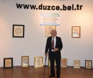 Servet Balamir yakma resim sergisi açıldı